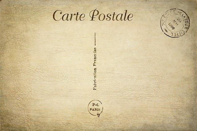 post card small